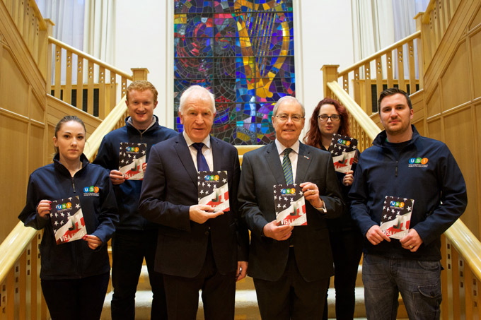 Minister for the Diaspora, Jimmy Deenihan TD has launched a new J1 Guide‌ for those visiting the USA on a J1 visa this summer.