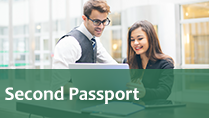 How can I apply for a second passport for business purposes?