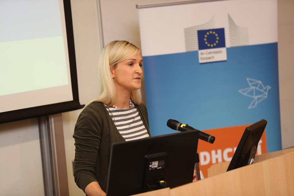 Minister McEntee participates in a Future of Europe Discussion in Limerick